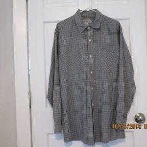 Carhartt mens long sleeve button down shirt